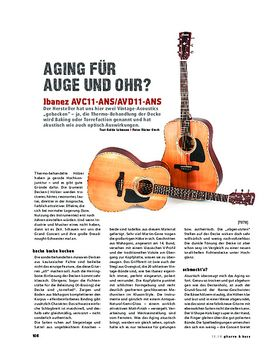 Ibanez AVC11-ANS und AVD11-ANS