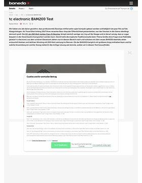 tc electronic BAM200