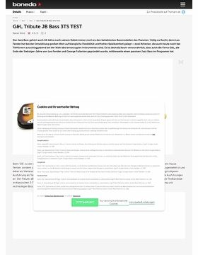 G&L Tribute JB Bass 3TS