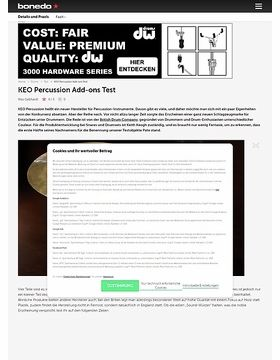 KEO Percussion Add-ons