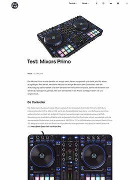 Test: Mixars Primo