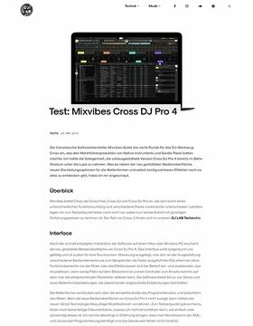 Mixvibes Cross DJ Pro 4