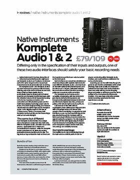 Komplete Audio 1 & Audio 2