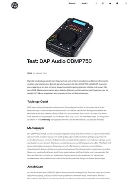 DAP Audio CDMP-750