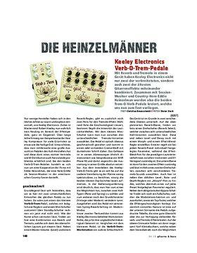 Keeley Electronics Verb-O-Trem-Pedale