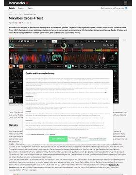 Mixvibes Cross 4 Test