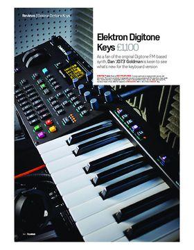 Elektron Digitone Keys