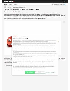 Sire Marcus Miller V7 2nd Generation