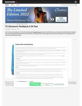 TC Electronic Flashback 2 X4