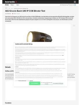 ADJ Encore Burst 100 IP COB Blinder