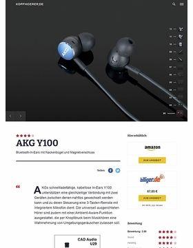 AKG by Samsung Y100 Blue