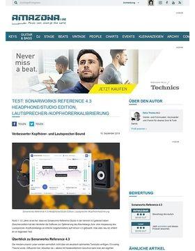 Sonarworks Reference 4.3 Headphone/Studio Edition