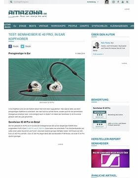 Sennheiser IE 40 Pro