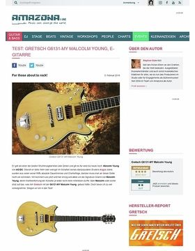 Gretsch G6131-MY Malcolm Young