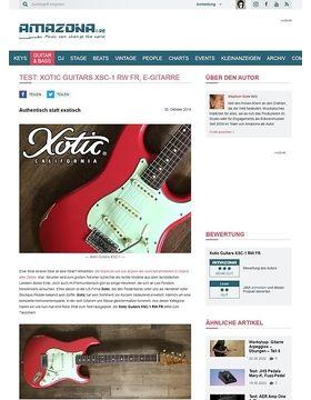 Xotic Guitars XSC-1 RW FR