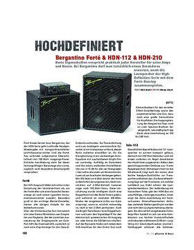 Bergantino Forté, HDN-112 & HDN-210