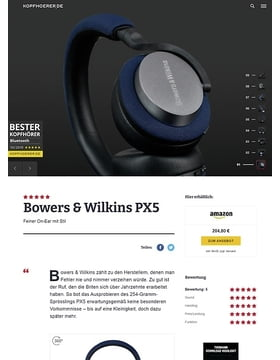 Bowers & Wilkins PX 5