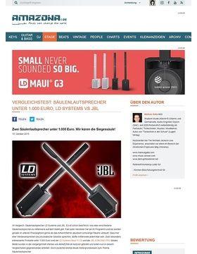 Vergleichstest: Säulenlautsprecher unter 1.000 Euro, LD Systems vs JBL