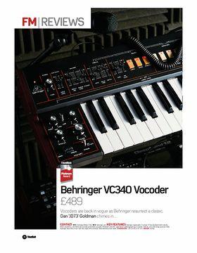 Behringer VC340 Vocoder