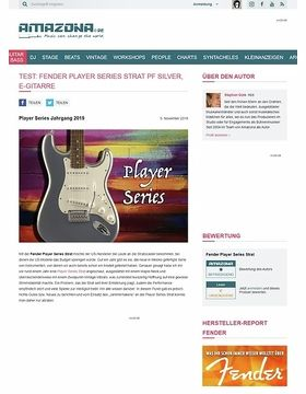 Fender Player Series Strat PF