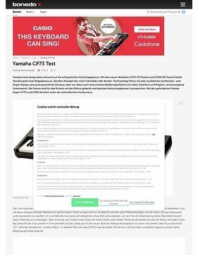 Yamaha CP73