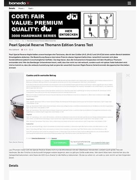 Pearl Special Reserve Thomann Edition Snares