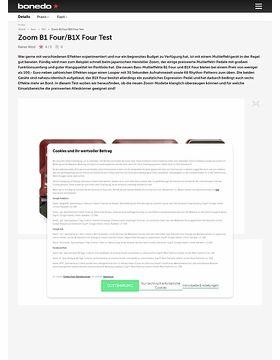 Zoom B1 Four und B1X Four