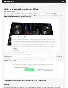Native Instruments Traktor Kontrol S3