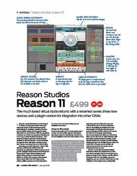 Reason Studios Reason 11