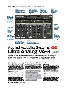 Applied Acoustics Systems Ultra Analog VA-3