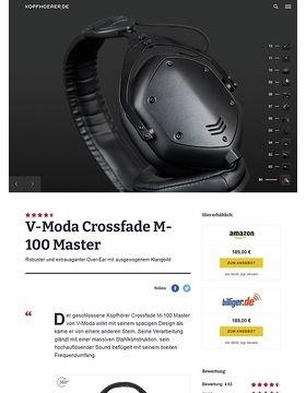 V-Moda Crossfade M-100 Master