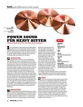Paiste 2002 Extreme Crash Cymbals