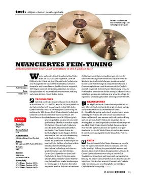 K Zildjian Cluster Crash Cymbals
