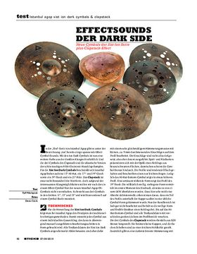 Istanbul Agop Xist Ion Dark Cymbals & Clapstack