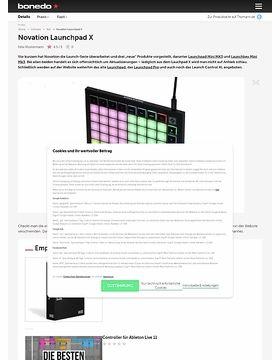 Novation Launchpad X