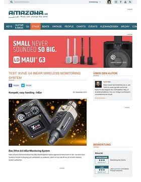 XVive U4 InEar Wireless Monitoring System