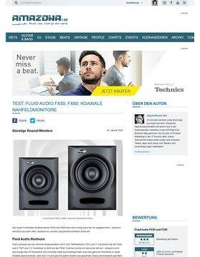 Fluid Audio FX50 & FX80
