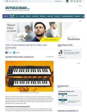 IK Multimedia iRig Keys 2 & 2 Pro