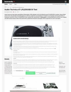 Audio-Technica AT-LP120XUSB SV