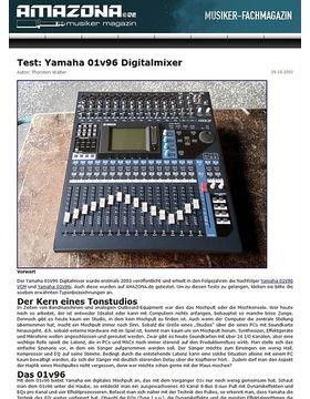 Test: Yamaha 01v96