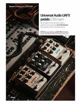 Universal Audio UAFX pedals