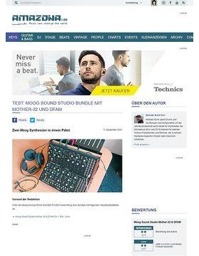 Moog Sound Studio Bundle mit Mother-32 und DFAM