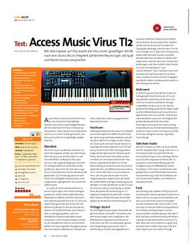 Test: Access Music Virus TI2