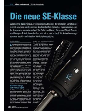Die neue SE-Klasse: SE Electronics RNR-1