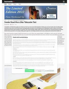Fender Road Worn 50er Tele