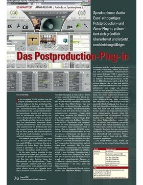Das Postproduction-Plug-in: Audio Ease Speakerphone 2