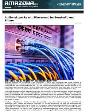 Audionetzwerke mit Ethersound
