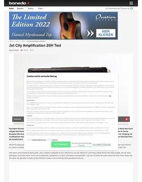 Jet City Amplification 20H