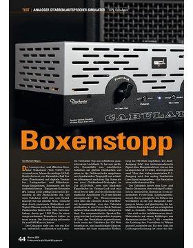 SPL Cabulator: Boxenstopp