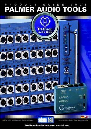 Palmer Audio Tools Brochure